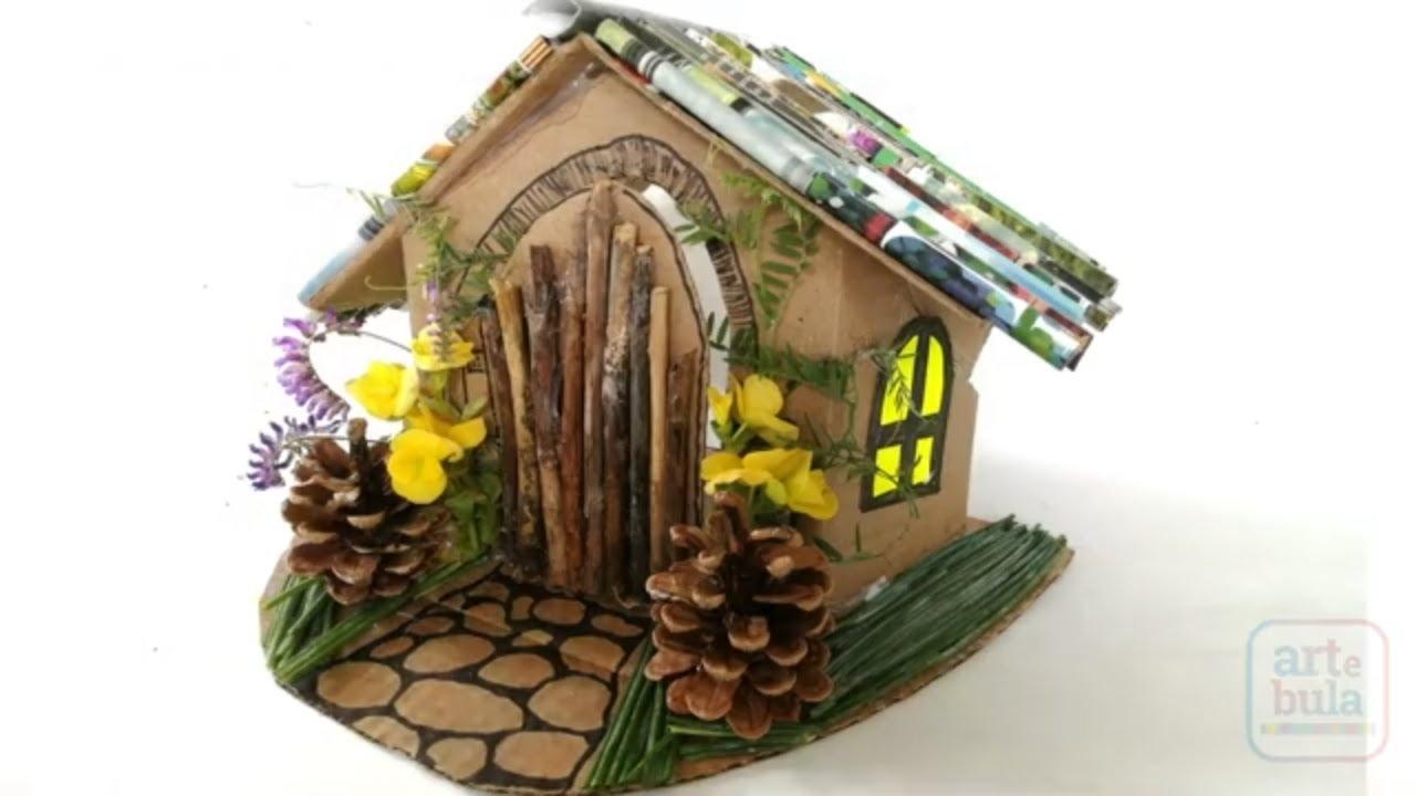 How to Make a DIY Fairy House