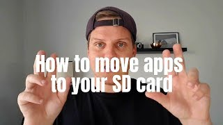 How to move apps to SD card on the Samsung Galaxy Tab A with S Pen