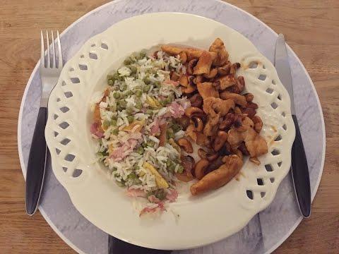 une-recette-À-la-carte-#2---poulet-sauté-aux-noix-de-cajou-&-riz-cantonais