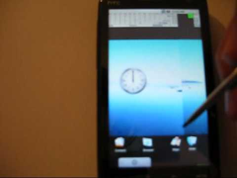 4th Android 1.0 Boot HTC Touch HD