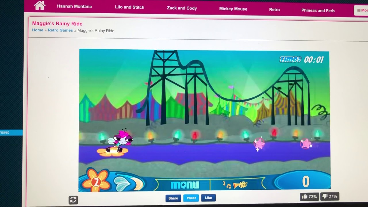 The Buzz On Maggie Maggie S Rainy Ride Flash Game Gameplay Youtube You are playing rainy ride.do not forget to play one of the other great disney games at starsue.net. youtube