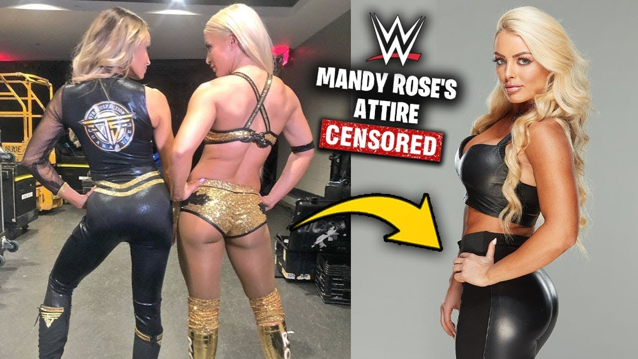 Why Mandy Rose Was FORCED To Cover Up With New Long Pants Attire - WWE Smackdown