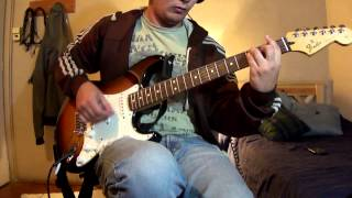 Throw Away Your Television - Red Hot Chili Peppers (Guitar cover with backing track)