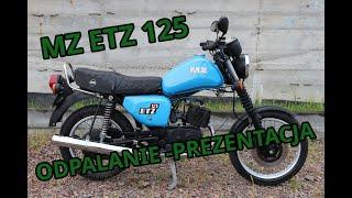 MZ ETZ 125 - Odpalanie, prezentacja. SZAFRAN Inwestycje