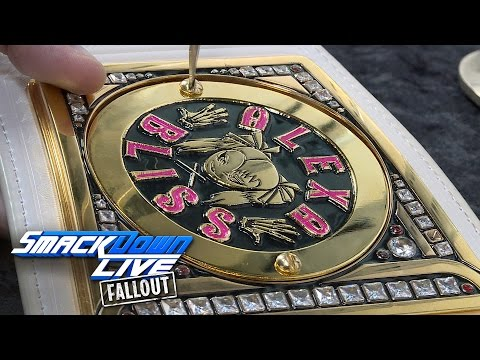 Alexa Bliss gets her plates put back on the Women's Title: SmackDown LIVE Fallout, Feb. 22, 2017