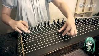 Repeat youtube video 千本桜 【古箏】 Senbonzakura 【Chinese Guzheng】