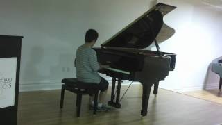 Jeremy, age 13, plays Bach: Two-Part Invention No. 14 in B-flat Major