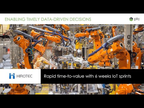 ThingWorx® Manufacturing Apps Webinar for Asia Pacific Customers
