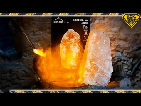 We Liquified a Himalayan Salt Lamp
