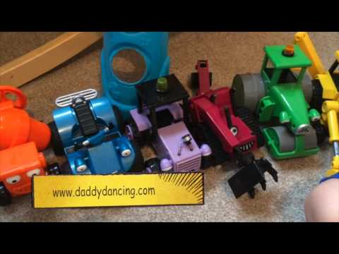 bob the builder vehicles video toy review scoop travis