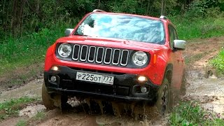 видео Тест Jeep Renegade