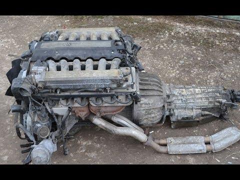 Сборка V12 M70b50/Бмв е34 540