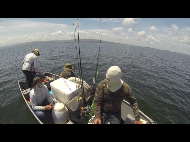 (Drone) Fishing At Afobaka Suriname