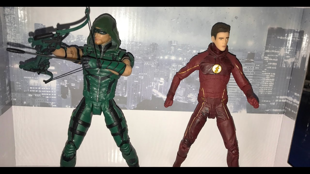 DC Collectibles The Flash Action Figure Season 3 CW