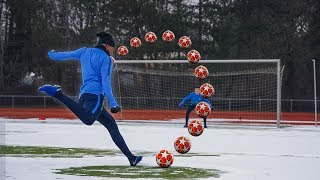 U19 NATIONALSPIELER vs. YOUTUBER: Fußball Challenge