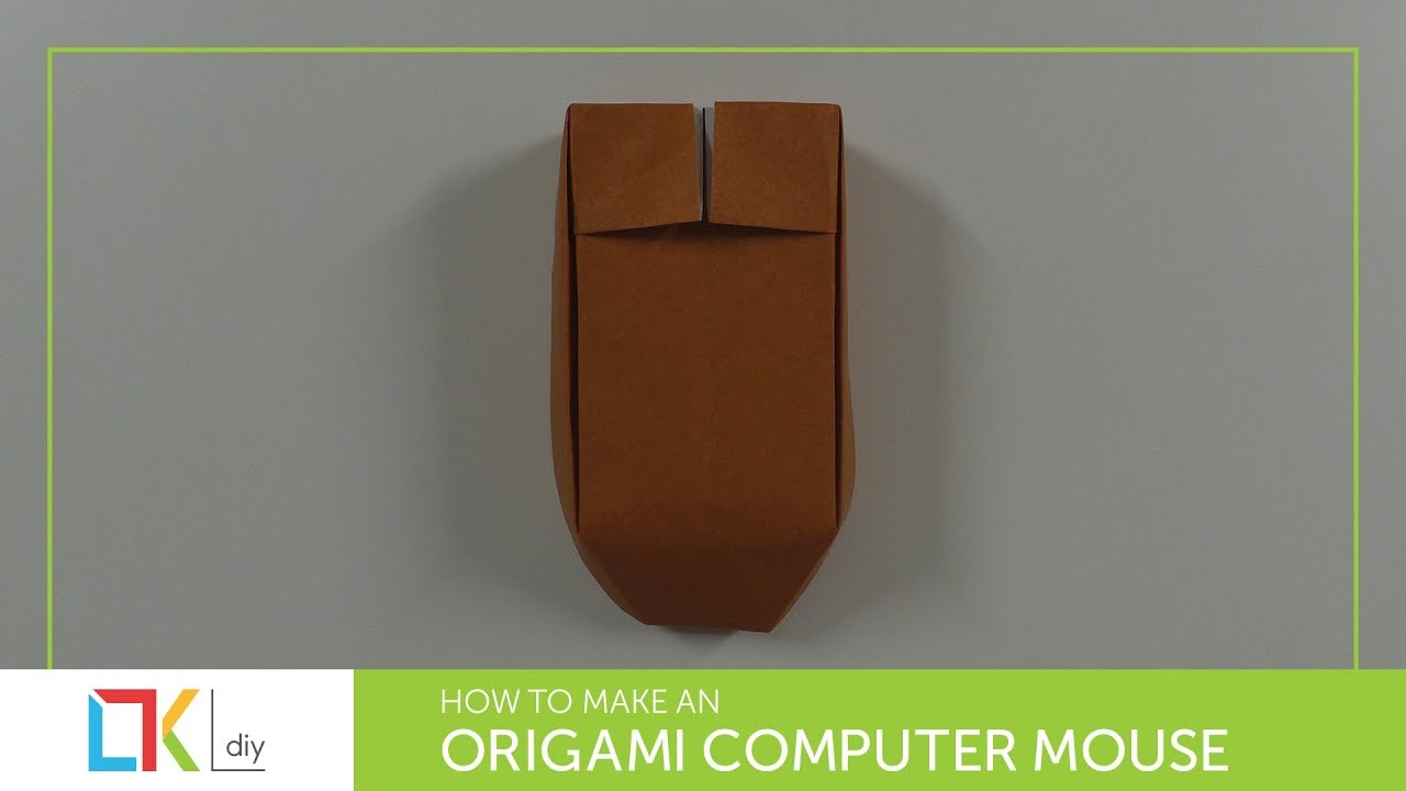 Origami Toys 125 How To Make An Computer Mouse Bluetooth Mousemouse Origamiorigami Diagramorigami