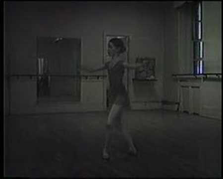 Vera Nemtchinova Katherine Healy Ballet Class Prelude 1979