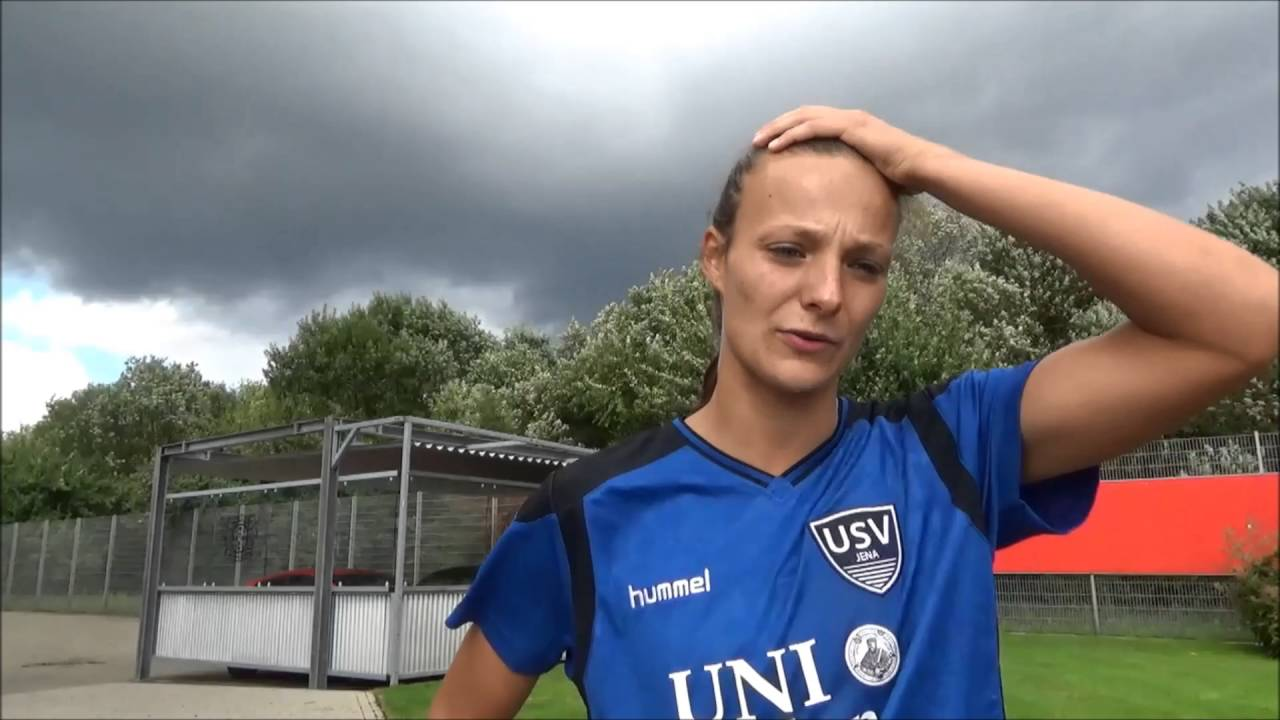 20160904 interview lucie vonkova after bayer04 leverkusen for 1ste bundesliga
