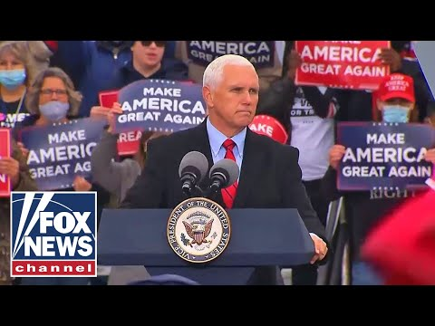 Live: Pence speaks at a 'Make America Great Again Victory Rally' in South Carolina