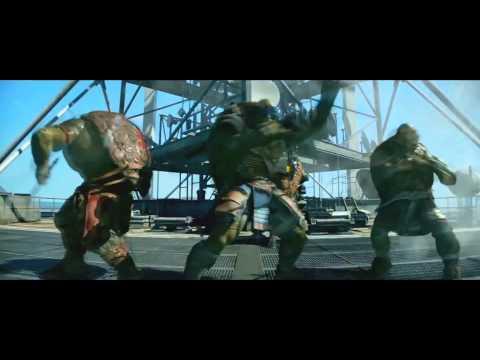 Shell Shocked TMNT FAN MADE VIDEO Juicy J, Wiz Khalifa, Ty Dolla $ign ft Kill The Noise & Madsonik