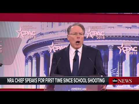 NRA CEO LaPierre addresses CPAC conference | ABC News