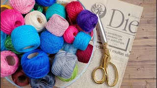 DIY Woolen Hanging craft idea | Best for Vehicle & Home | Wool Chandelier/Wool Wind Chime | DotsDIY
