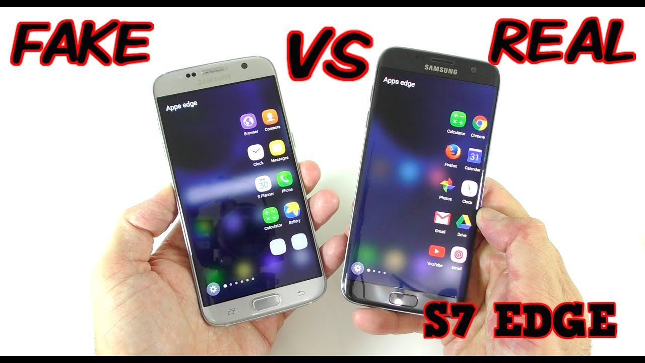 732535681bb FAKE vs REAL Samsung Galaxy S7 Edge - Buyers BEWARE! 1 1 Clone - YouTube