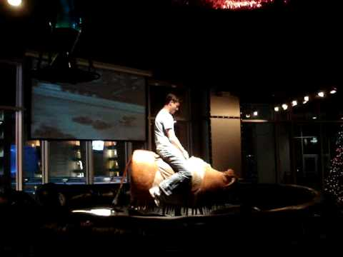 Eddie Rides The Bull At Whiskey River