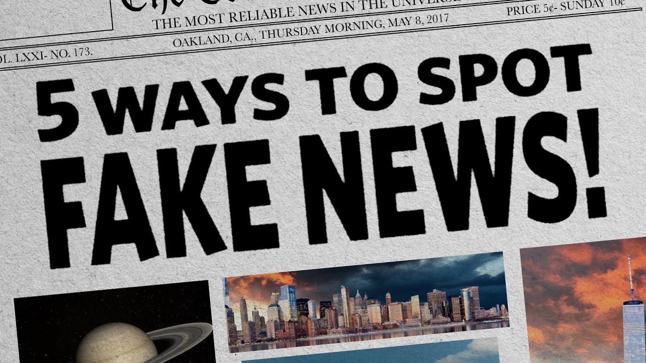 What Is Fake News?   Wittenberg University
