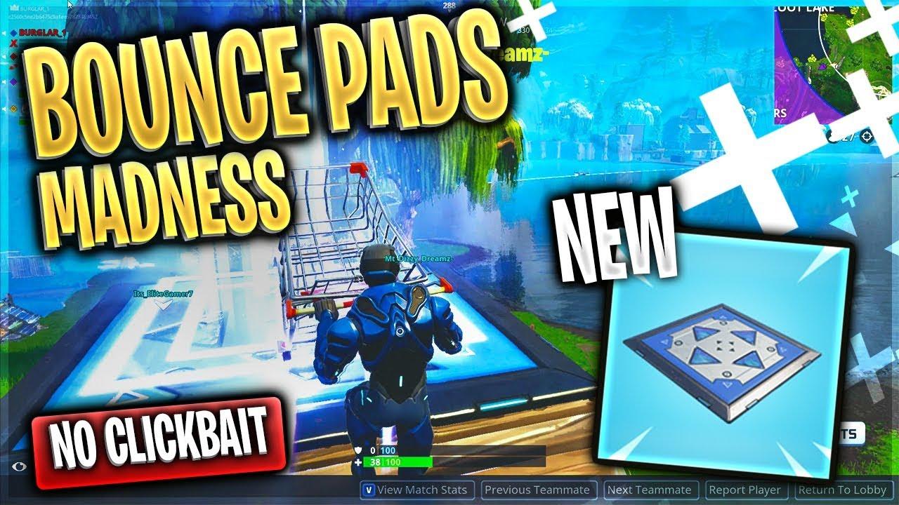 Fortnite Bounce Pad Meme Gameplay Fortnite Memes Clean Youtube