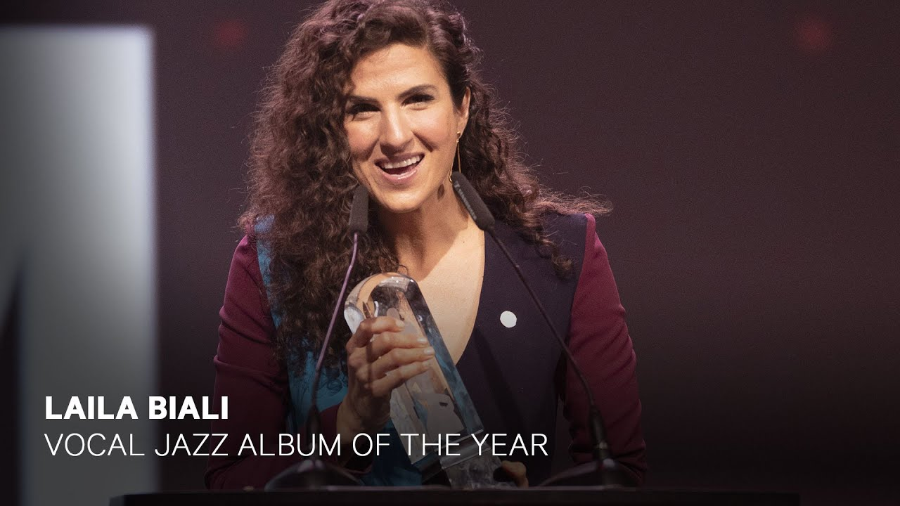 Laila Biali wins Vocal Jazz Album of the Year | Live at the 2019 JUNO Gala  Dinner & Awards