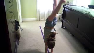 How to make a gymnastics balance beam for less than a $1