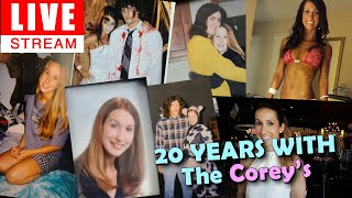 20 Years With The Corey's LIVE STREAM