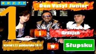 Don Vasyl Junior i Cygańskie Gwiazdy.Wywiad i koncert.Cz.1z2.Słupsk.31.10.2015
