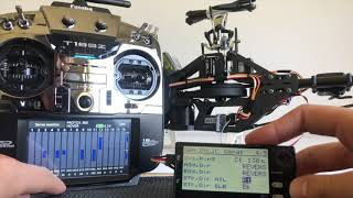 Futaba CGY760R Set Up - Pt 2 760R & GPB-1 basic set up
