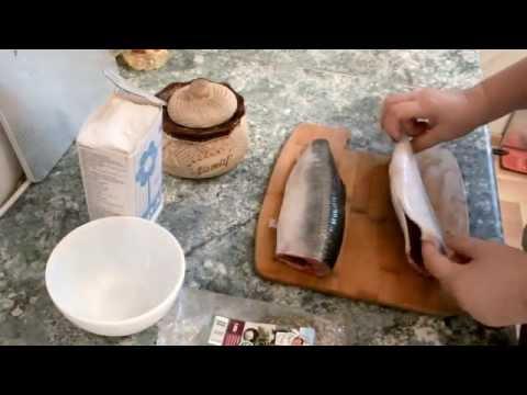 Новогодние рецепты Как солить селедку целиком
