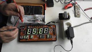 Сбиваются электронные часы Ремонт