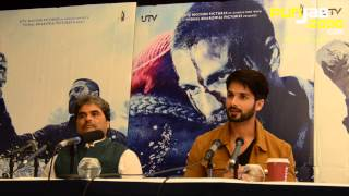 "Shahid Kapoor and Vishal Bhardwaj in conversation on ""Haider"" in the UK"