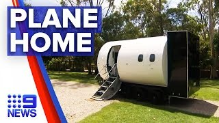 New 'aero Home' Takes Owners To New Heights | Nine News Australia