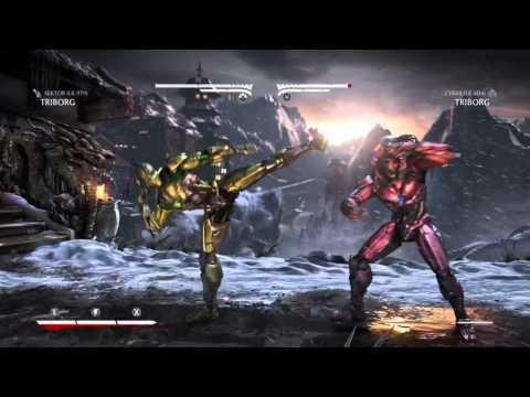 THE EPIC BATTLE [CYRAX] .Vs.[SEKTOR] VERY HARD (Mortal Kombat XL)