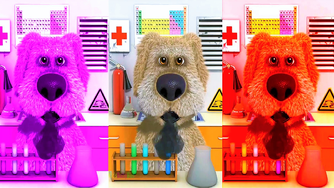 Have Fun With Colors Talking Ben Colours And Panda Videos