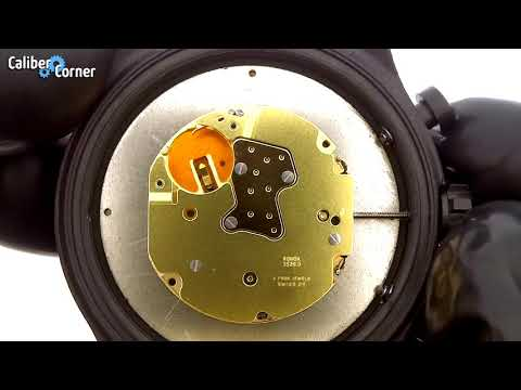 Ronda Caliber 3520.D Swiss Made Quartz Chronograph Movement