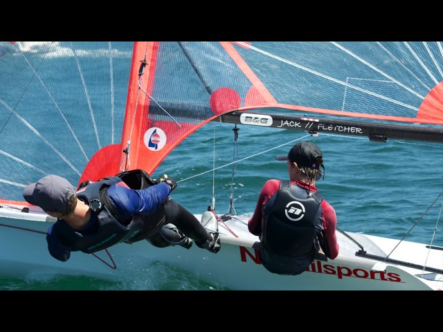29er Training Session Feb 2019 - Fletcher Walters / Jack Hildebrand