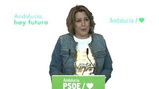 Susana Díaz pide a Ferraz adelantar primarias para candidatura a la Junta