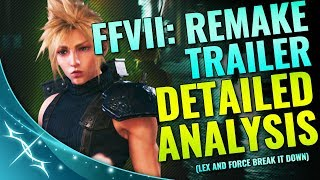 FFVII Remake State of Play Trailer: Frame by Frame Analysis