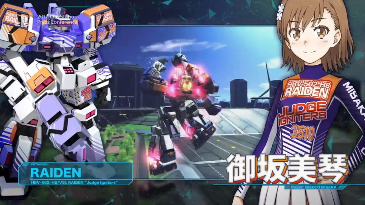 Image result for A Certain Magical Virtual-On