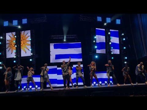 DADDY YANKEE  Uruguay  2017 Landia COMPLETO  (4K)