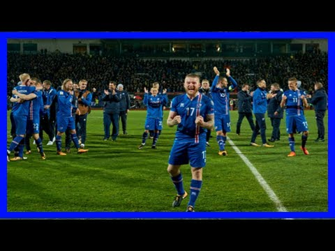 Photos: icelanders celebrate the win over kosovo which secured a spot at the world cup