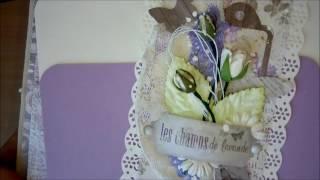 видео Шоколадница в стиле прованс