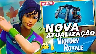 Fortnite-FOOTBALL SKINS are BACK!! NEW VAN & NEW UPDATE TOMORROW!! Important!!